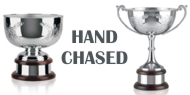 Hand Chased Cups