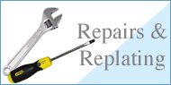 Repairs and Replating